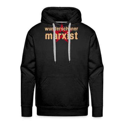 wunderschoener marxist - Männer Premium Hoodie