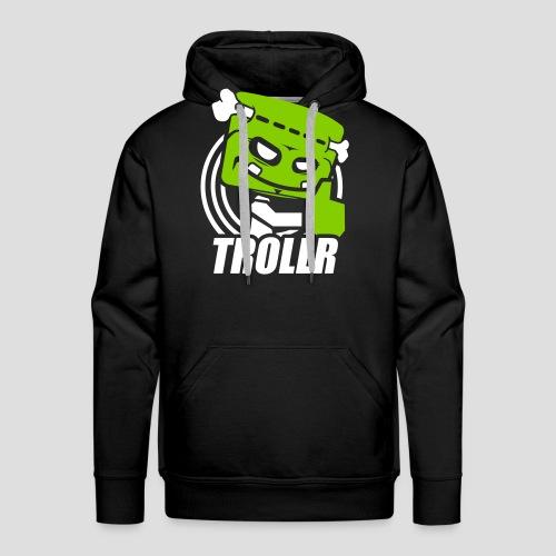 TROLLR Like - Sweat-shirt à capuche Premium pour hommes