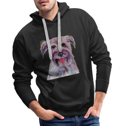 pyrenean shepherd - Herre Premium hættetrøje