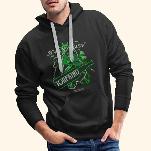 Whisky T Shirt Design Islay Single Malt Peat Torf - Männer Premium Hoodie