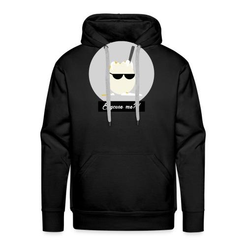 Eggcuse me 6 - Sweat-shirt à capuche Premium pour hommes