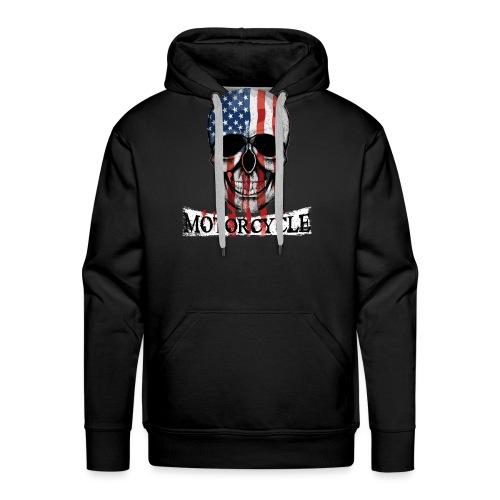 Biker Motorcycle T-shirt Unisex Tee Shirt Rider - Sweat-shirt à capuche Premium pour hommes