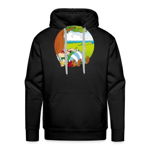Astérix & Obélix Font Une Sieste - Sweat-shirt à capuche Premium pour hommes