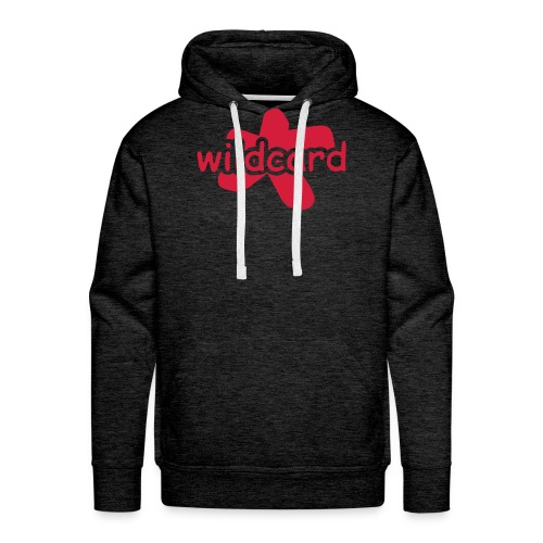 wildcard logo uni - Männer Premium Hoodie