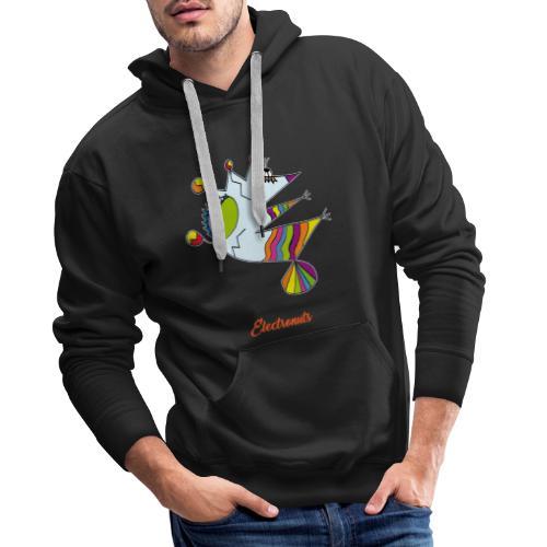 Electronuts - Sweat-shirt à capuche Premium pour hommes