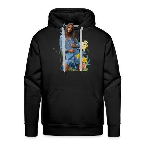 flowers Emily - Men's Premium Hoodie