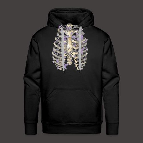 La Cage Thoracique de Cristal couleur - Sweat-shirt à capuche Premium pour hommes