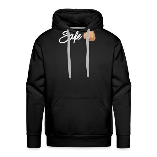 Safe White Logo - Men's Premium Hoodie