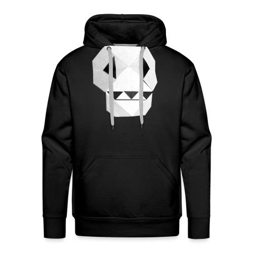 Origami Skull - Skull Origami - Calavera - Teschio - Men's Premium Hoodie