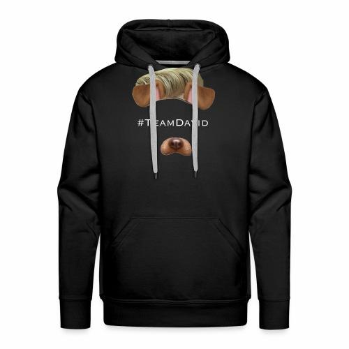 #TeamDavid Fanmerch - Männer Premium Hoodie