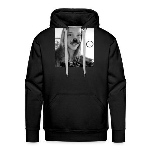pour les fans de ma soeur - Sweat-shirt à capuche Premium pour hommes