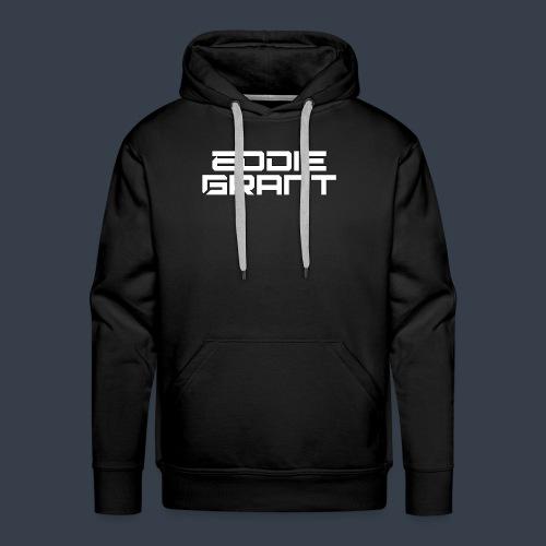 Eddie Grant White Logo - Mannen Premium hoodie