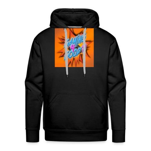 logo shirt - Men's Premium Hoodie