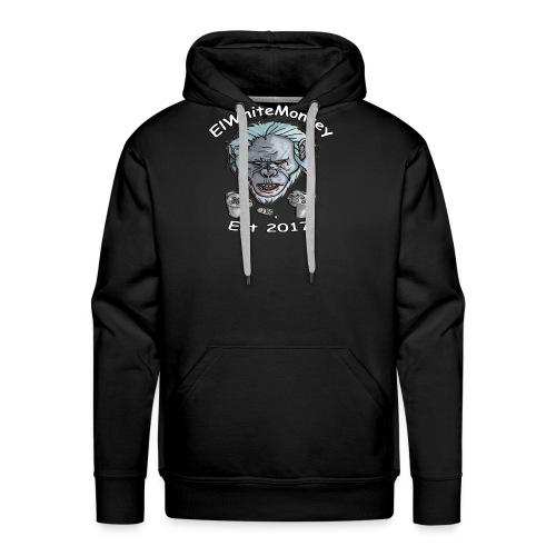 ElWhiteMonkey Logo - Men's Premium Hoodie