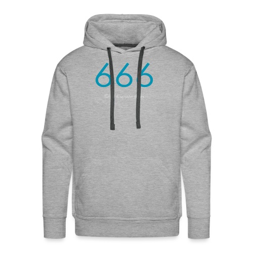 666 and 999 - Premiumluvtröja herr
