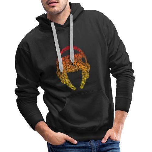 Nouveau Taekwondo Design unique - Sweat-shirt à capuche Premium pour hommes