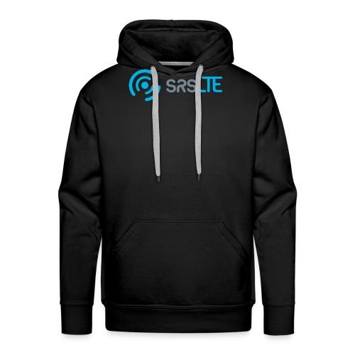 srsLTE grey/blue front/black dark - Men's Premium Hoodie