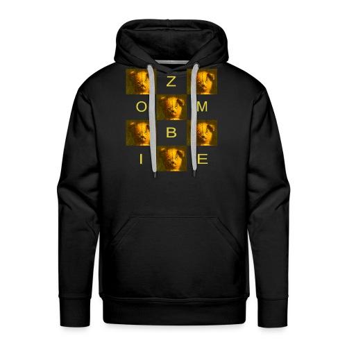 Zombie Teddy Bear Design - Men's Premium Hoodie