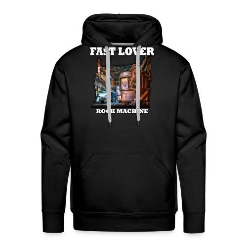 Fast Lover - Rock Machine - Männer Premium Hoodie