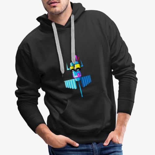 indian - Bluza męska Premium z kapturem