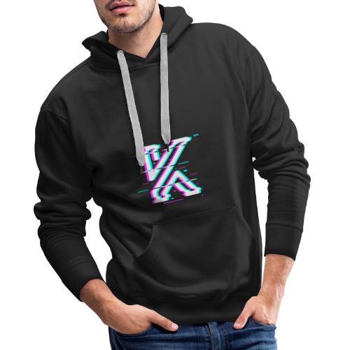 Glitch - Sweat-shirt à capuche Premium pour hommes