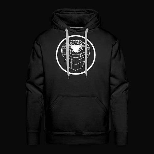 Logo Cobra Moto Madness - Sweat-shirt à capuche Premium pour hommes
