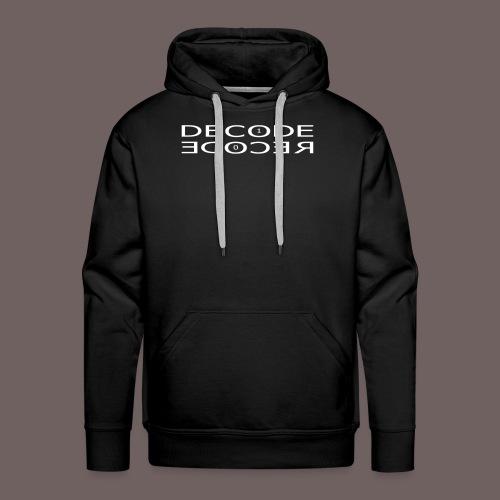 GBIGBO zjebeezjeboo - Rock - DeRecode [FlexPrint] - Sweat-shirt à capuche Premium pour hommes