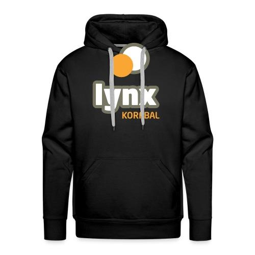 lynx logoPMS - Mannen Premium hoodie