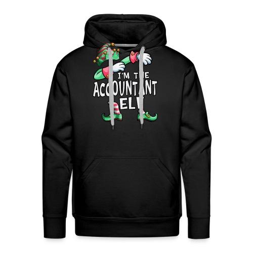 I'm The Accountant Elf Dabbing Christmas Family - Men's Premium Hoodie