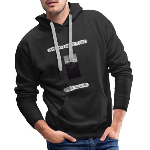 HAVE YOU SMILED TODAY ? - Sweat-shirt à capuche Premium pour hommes