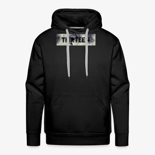 Box Logo Thirteen - Mannen Premium hoodie