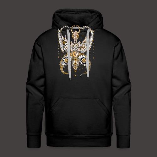 Papillon Lilou Dore - Sweat-shirt à capuche Premium pour hommes