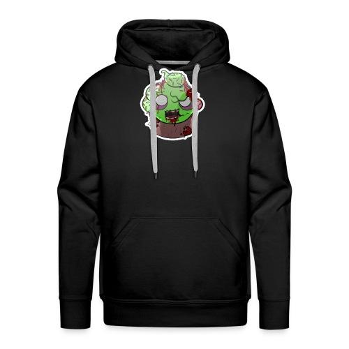 Cupake zombie couleur - Sweat-shirt à capuche Premium pour hommes