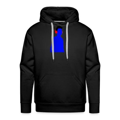 BluenticPic - Felpa con cappuccio premium da uomo