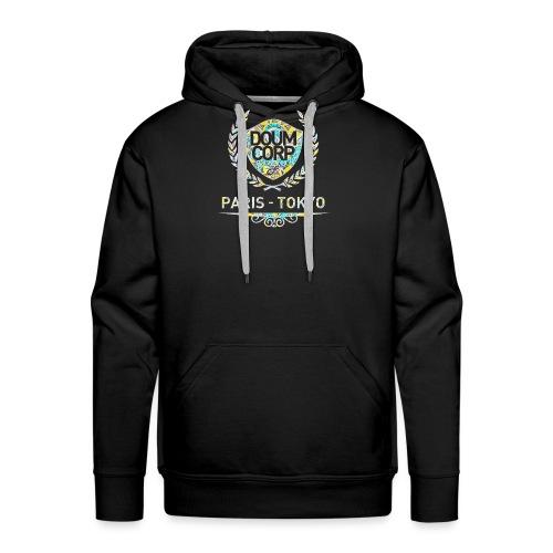 Logo couleurs été - Sweat-shirt à capuche Premium pour hommes