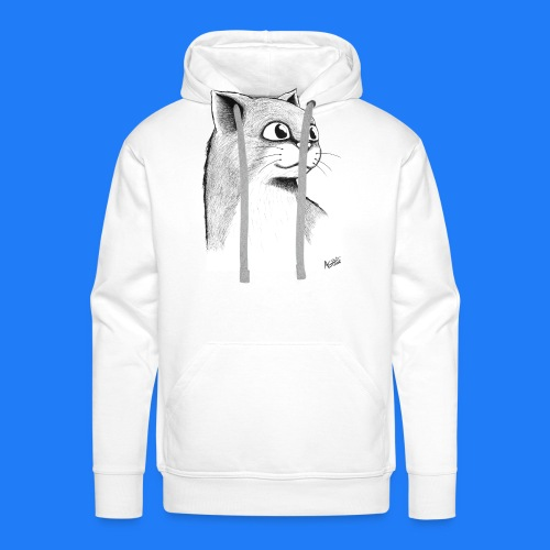 CAT HEAD by AGILL - Sweat-shirt à capuche Premium pour hommes