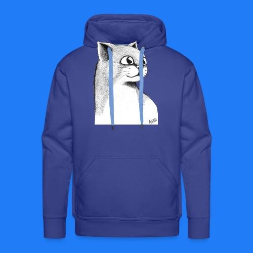 CAT HEAD by AGILL - Sweat-shirt à capuche Premium pour hommes