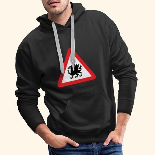 Welsh Dragon - Men's Premium Hoodie