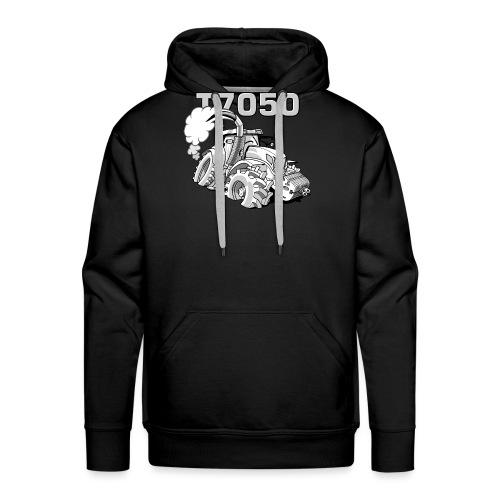 0846 NH T7050 gray - Mannen Premium hoodie