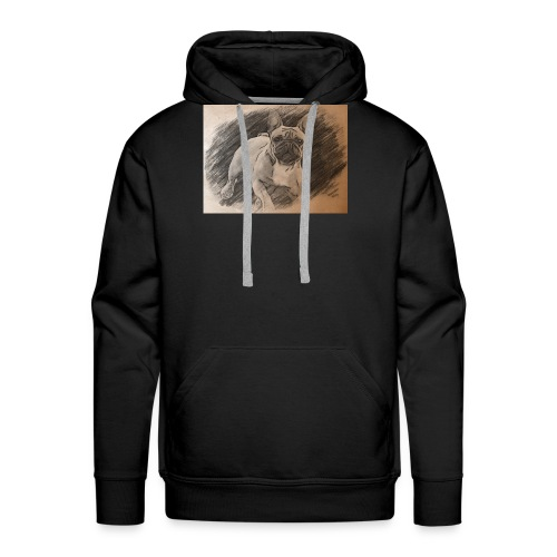 Französische Bulldogge Babsy - Männer Premium Hoodie