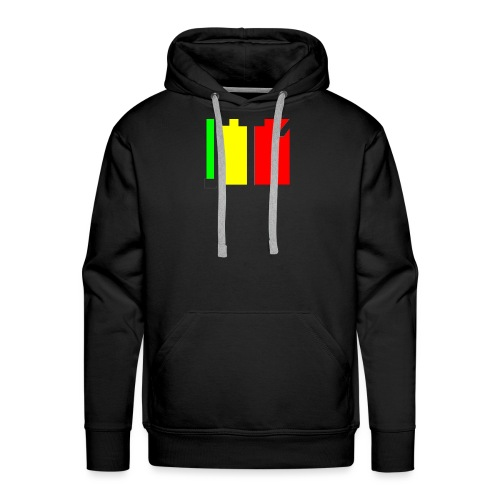st1 - Sweat-shirt à capuche Premium pour hommes