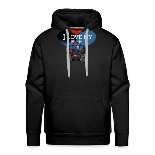 0841 0340 I love my IH - Mannen Premium hoodie