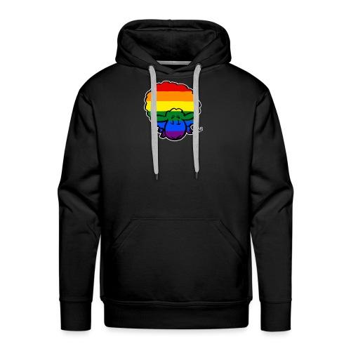 Rainbow Pride Sheep (schwarze Ausgabe) - Männer Premium Hoodie