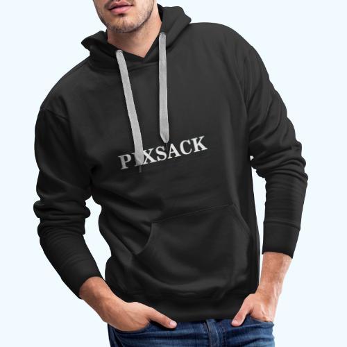Pixsack T Shirt mit Rückseite - Männer Premium Hoodie