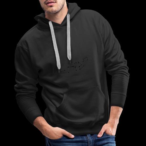 lil peep hoodie - Herre Premium hættetrøje