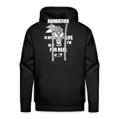 AMB Animation - In It For REAL - Men's Premium Hoodie