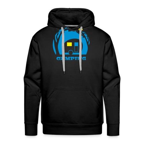 vl089c_camping_2c - Männer Premium Hoodie