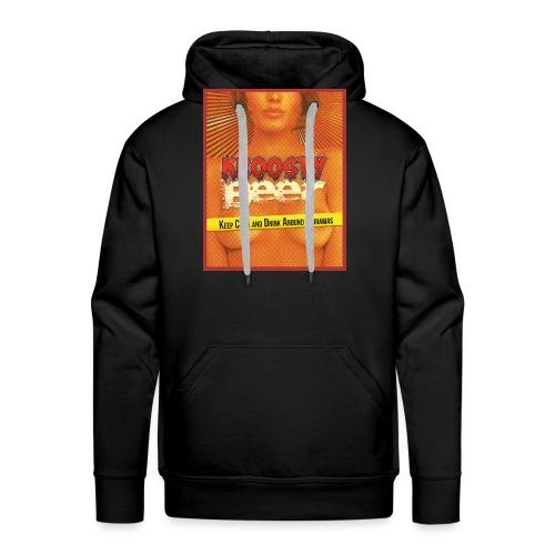 Kroosty Beer - Sweat-shirt à capuche Premium pour hommes