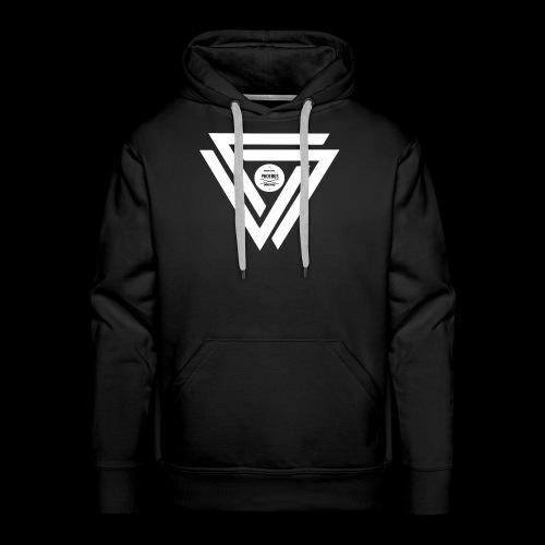 08 logo complet withe - Sweat-shirt à capuche Premium pour hommes