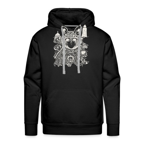 The Heart Is A Golden Fractal - Men's Premium Hoodie